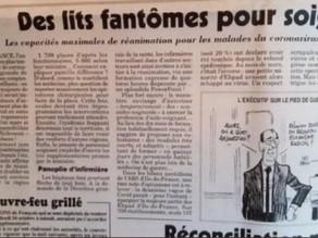 """En un an de """"pandémie"""", le gouvernement a supprimé 25% des lits de réanimation en Ile-de-France"""