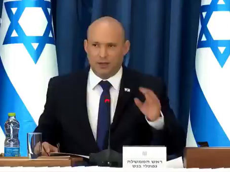 """Israel - Bennett:""""Les plus vulnérables sont ceux qui ont reçu deux doses de vaccins"""""""