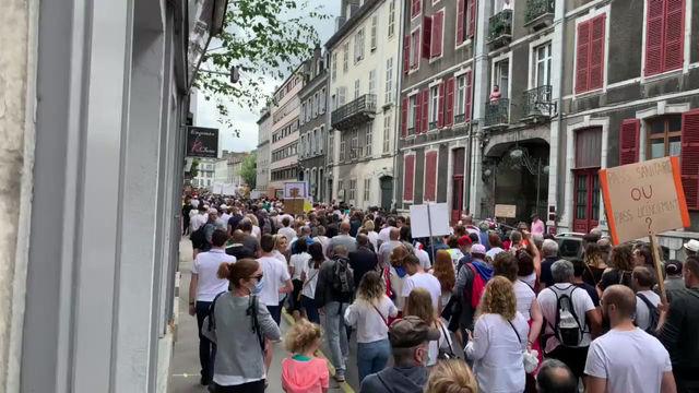 Manifestations du 24 juillet contre le passe sanitaire (1ere partie)