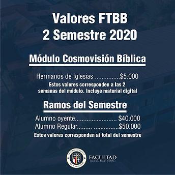 Invitamos a nuestros hermanos al módulo de Cosmovisión Bíblica. Cerramos inscripciones hasta el viernes 31 de Julio 2020