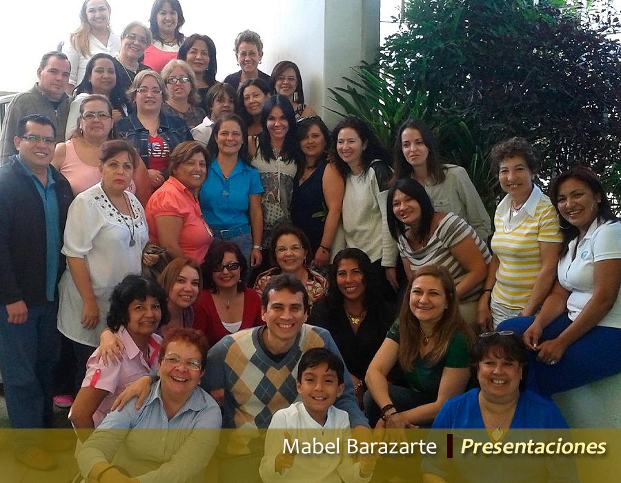 Mabel Barazarte / Presentaciones