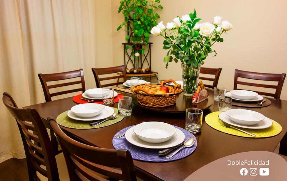 Tips de Feng Shui para el comedor