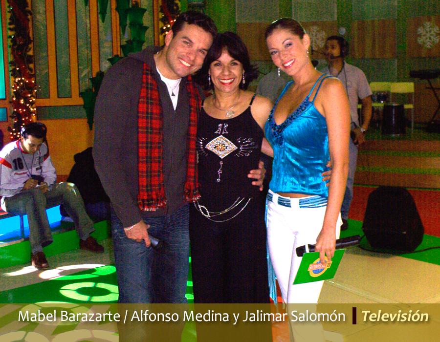 Mabel Barazarte / Alfonso Medina / Jalimar Salomón