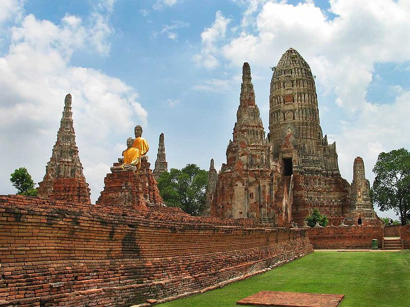 Wat Chaiwatthanaram_Ayutthaya_Thailand