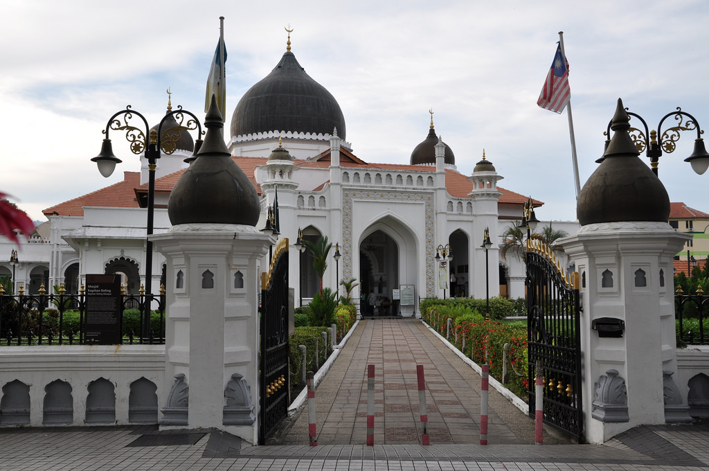 Malaysia_Kapitan Keling Mosque, Penang
