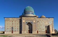 Kazakhstan_Mausoleum of Khoja Ahmed Yasavi (1389-1405)