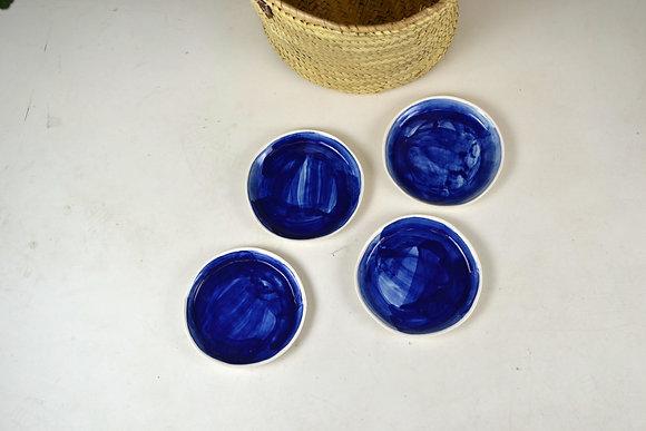assiette à dessert ALMA BLUE 3