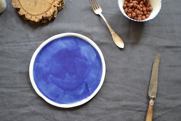 grande assiette ALMA BLUE 3