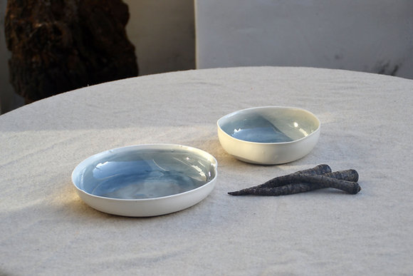 grande assiette creuse IVAN BLUE 2
