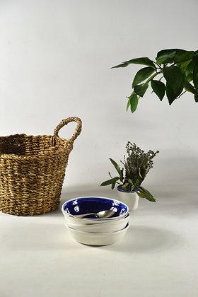 assiette à soupe ANDREA BLUE 3