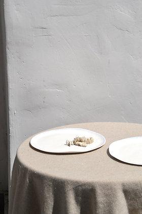 grande assiette ALMA WHITE
