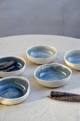 assiette à soupe ALAMAR BLUE 2