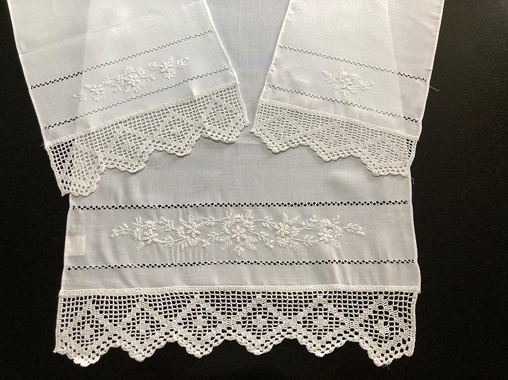 Conj. de WC - Branco/Branco e Branco Sujo/Branco Sujo