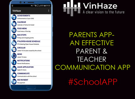 PARENTS APP- AN EFFECTIVE PARENT & TEACHER COMMUNICATION APP