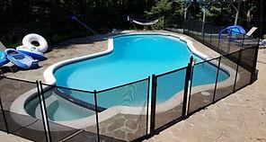 Pool Safety Fence  Virginia Maryland DC