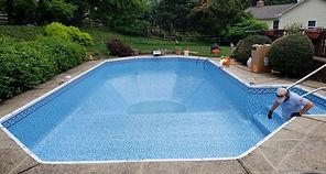 Pool Vinyl Liner Replacement  Virginia Maryland DC