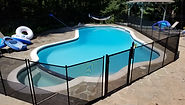 MS Home Pool Services safety fence
