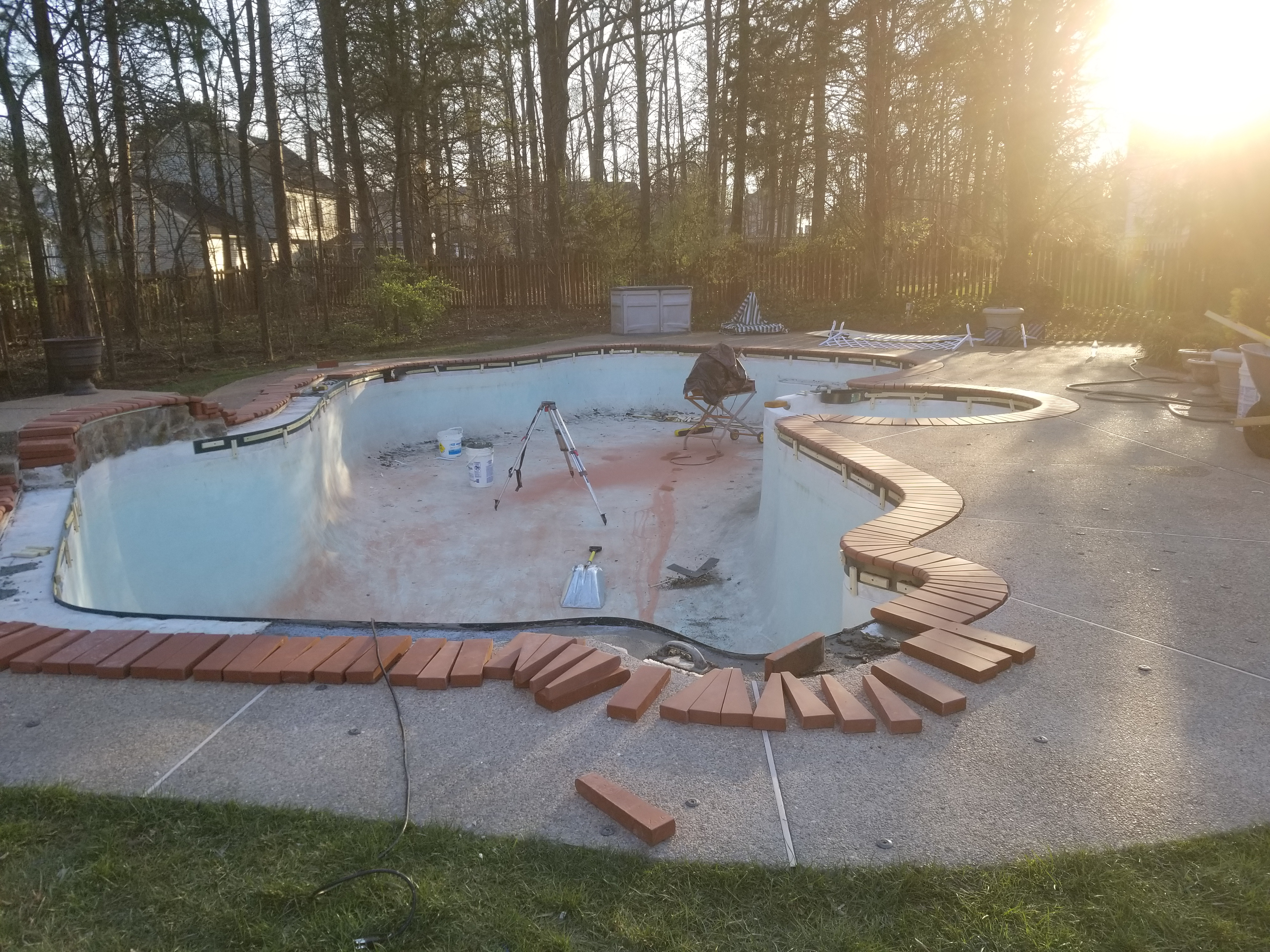 MS Home Pool Renovation
