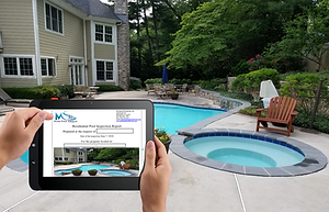MS Home Pool Services Inspection report.
