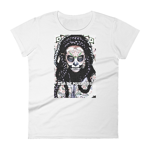 Dia Da Muertos Ladies Classic Fit T-shirt