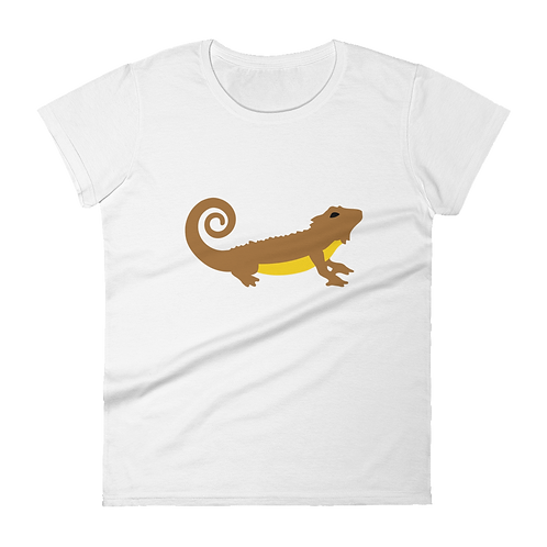 Simple Dragon Ladies Classic Fit T-shirt