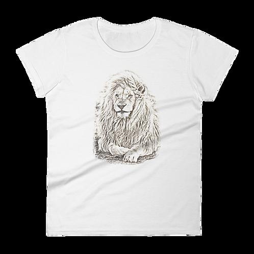 White Lion Ladies Classic Fit T-shirt