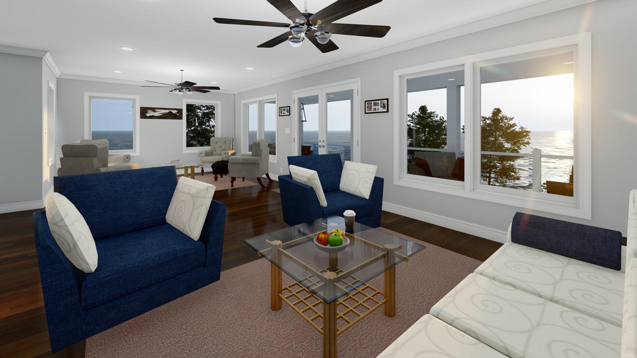 Selph - 2nd Floor Living Room