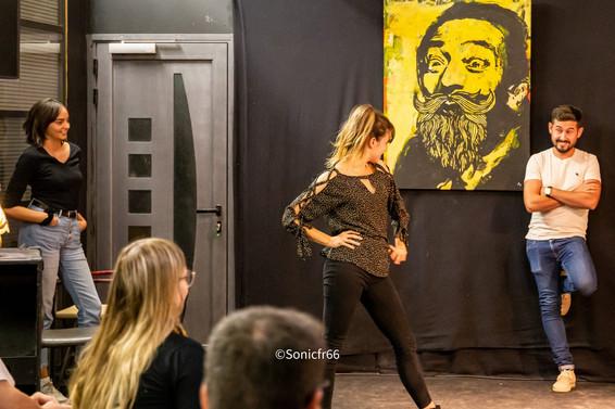 Les cours de théâtre Cie noctambule
