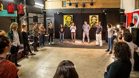 Cours de théâtre Cie Noctambule el Paséo