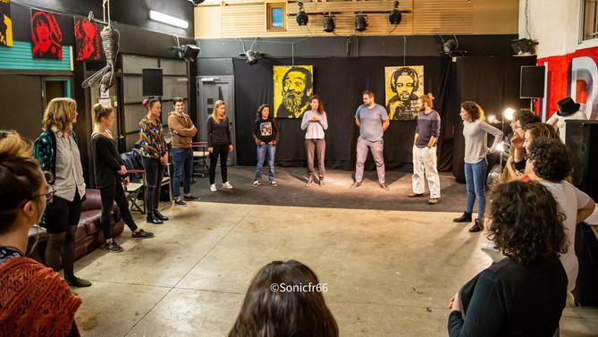 Les cours de théâtre Compagnie Noctambule