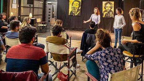 Les cours de théâtre Cie Noctambule El Paséo
