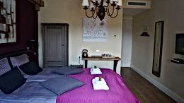 Deze afbeelding geeft een eerste indruk van één van de kamers in B&B Johannes-Hoeve in Baarlo Limburg