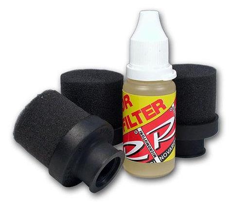 Filtre à air complet + huile (x3)