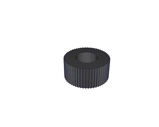 Écrou plastique M6 (x2)SPM0171