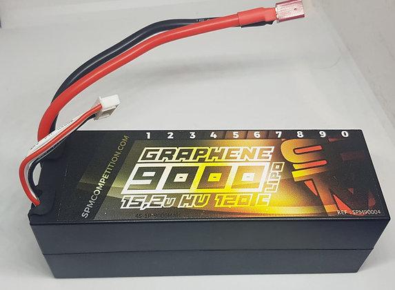 batterie lipo graphene 9000mh 120c 15,2v hv