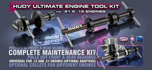 Ultimate engine tool kit for .21 engine HUDY
