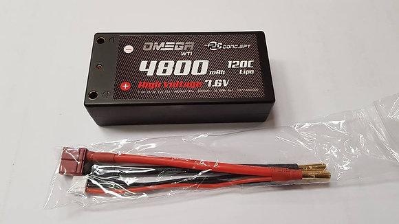 LIPO SHORTY 4800 7.6V  120C