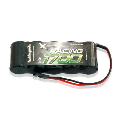 Pack de batterie 6V.1700mAh Ni-Mh soude Plat prise