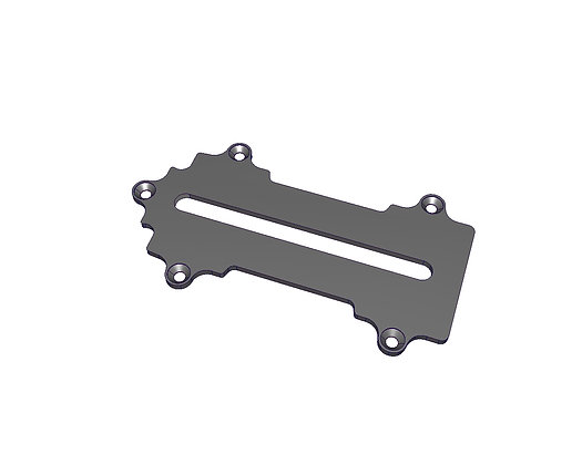 Support batterie SPM00117 CARBONE