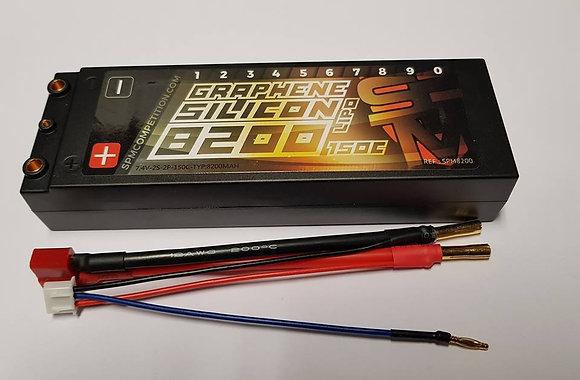 batterie lipo 8200 mh 150c graphene silicon
