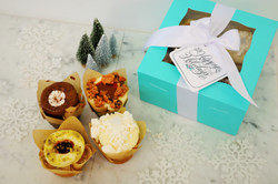 Frost Blue Cupcake Quartet, $20