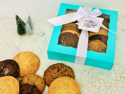Classic Holiday Cookie Box, $30