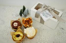 Holiday Cupcake Duo, $12