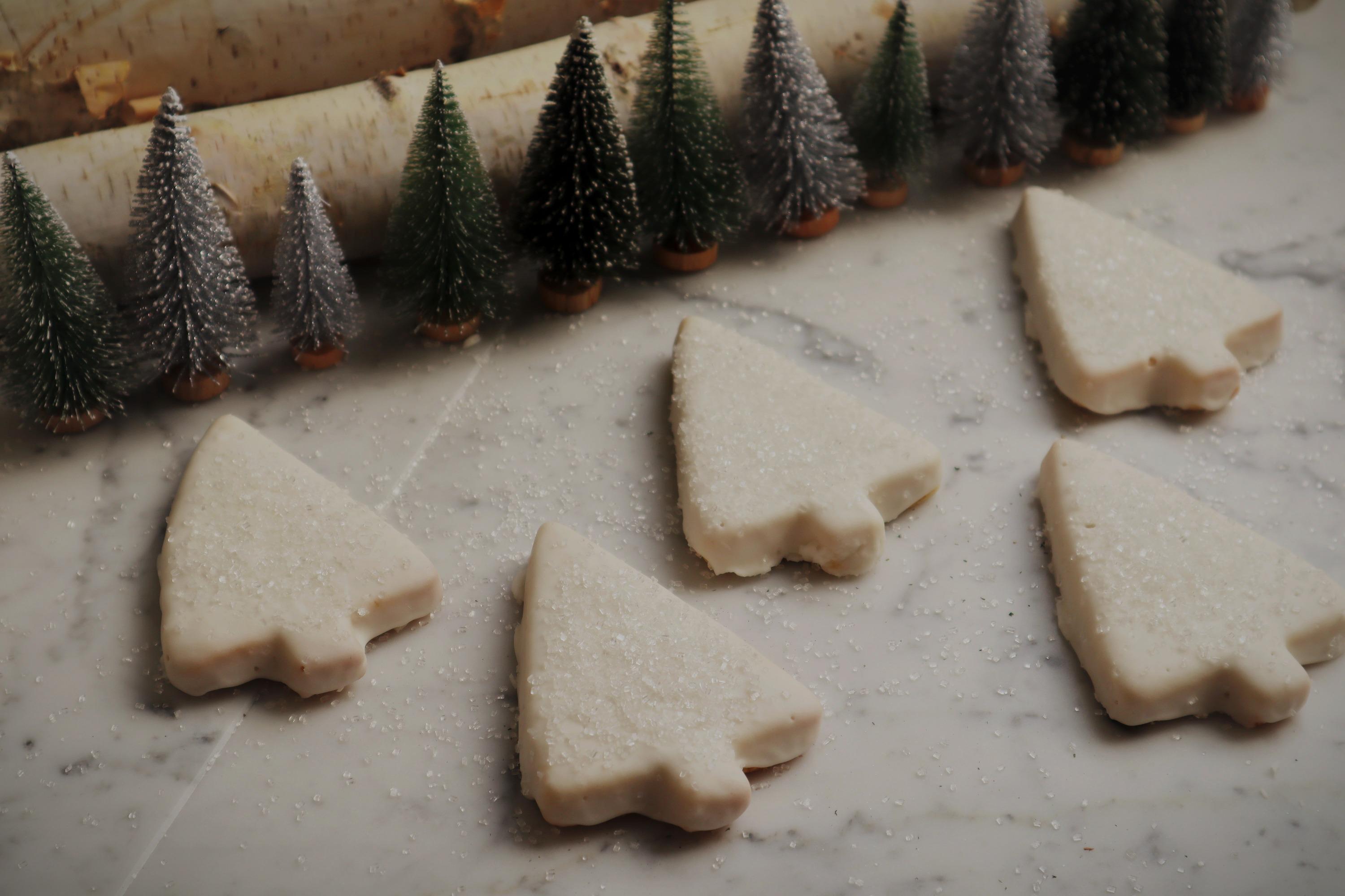 White Evergreen Sugar Cookie $3 ea