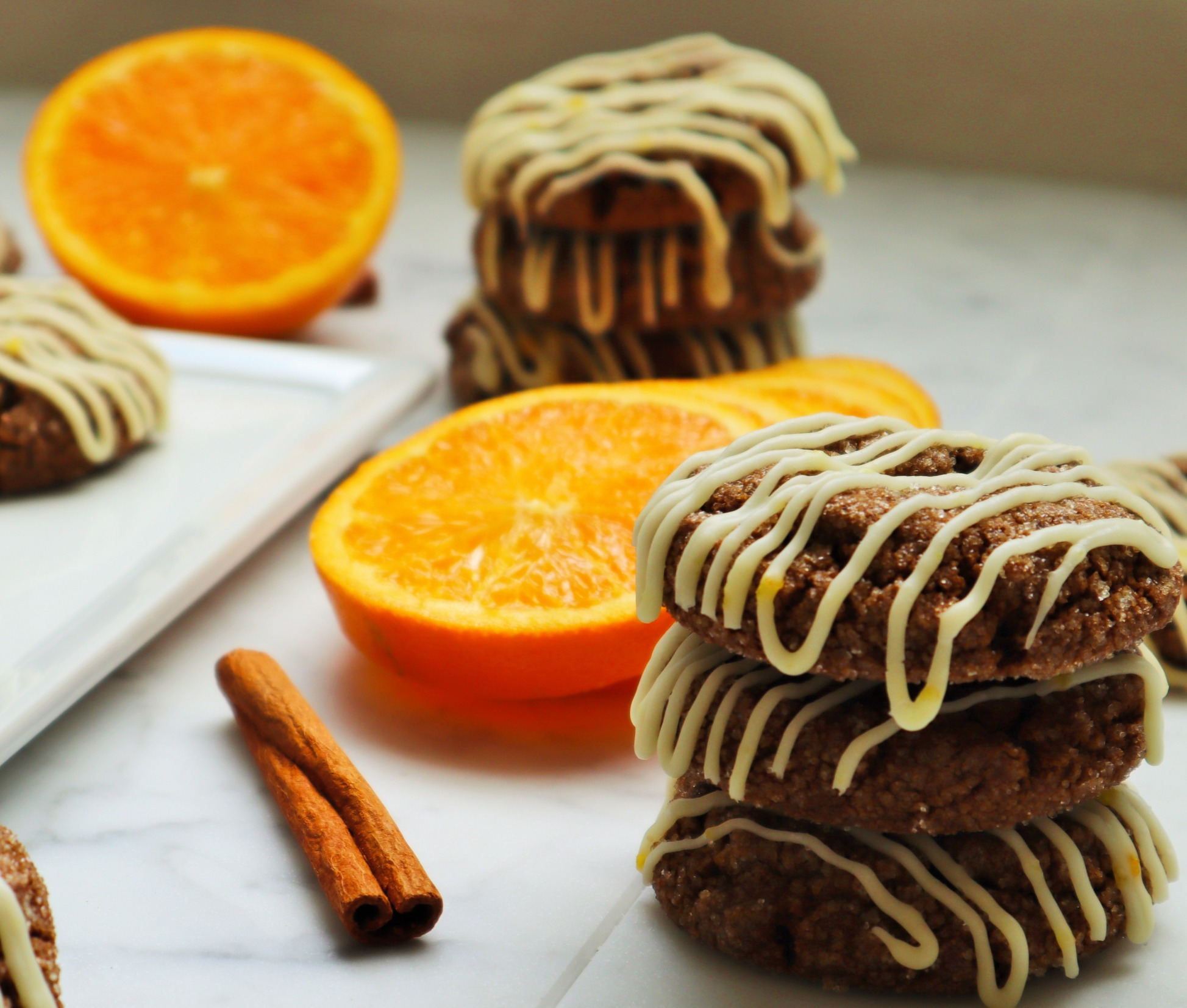 Orange Zest Ginger Molasses Cookie $1.89 ea