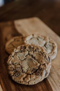 Milk & Dark Chocolate Chip Cookie