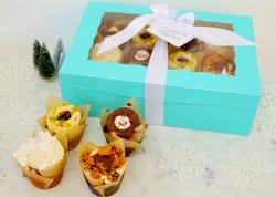 Frost Blue Dozen Cupcake Gift, $50