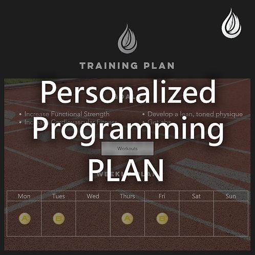 Personalized Programming Plan