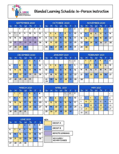 20-21 School Year Calendar