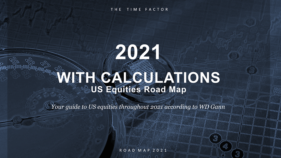 ROAD MAP 2021 - WITH CALCULATIONS